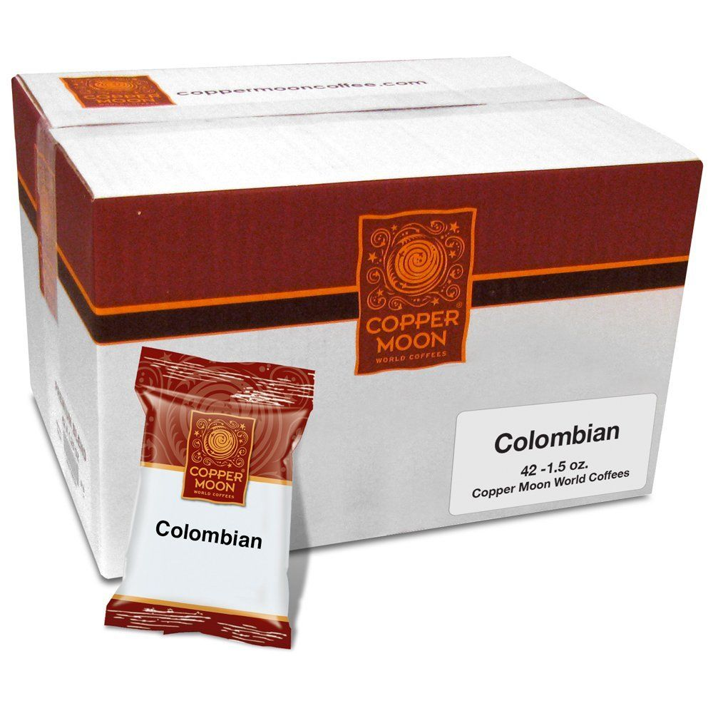 Copper moon colombian coffee portion packs 15 ounces