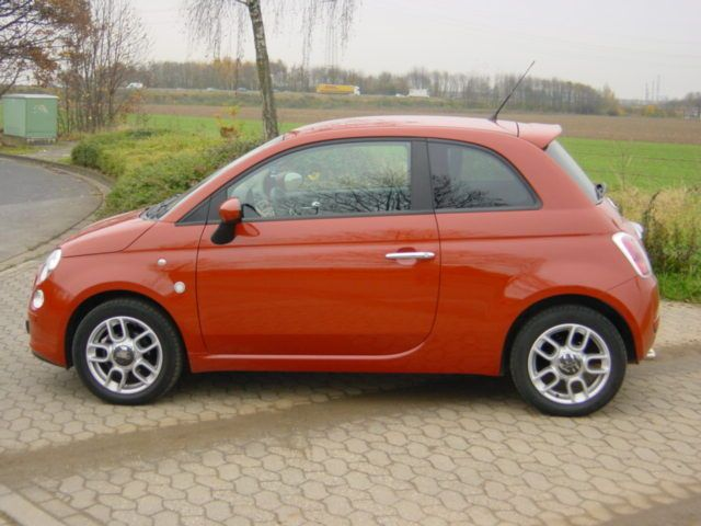 new fiat 500 in orange oh yes vehicles pinterest fiat wheels and cars. Black Bedroom Furniture Sets. Home Design Ideas