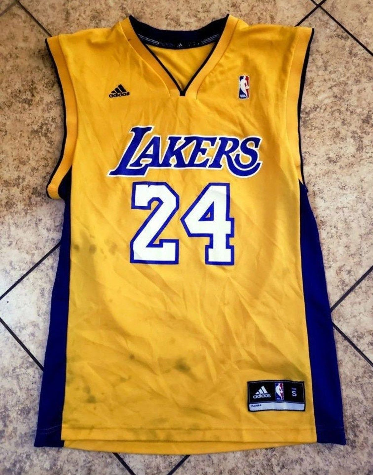Adidas Coby Bryant 24 Jersey Nba Lakers In 2020 Basketball Players Nba Jersey Bryant