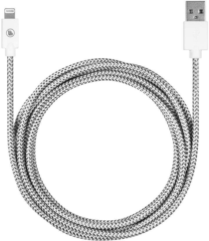 Merkury Innovations White 10 Ft. Threadz Extended Length