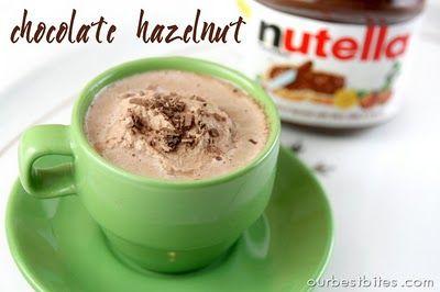 Chocolate Hazelnut Hot Chocolate