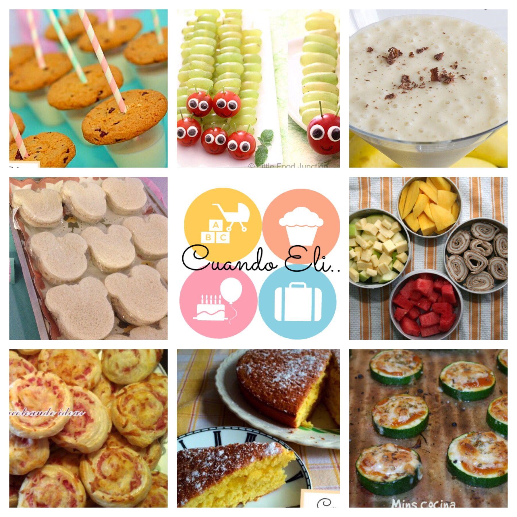 Meriendas Saludables Para Fiestas Infantiles Cuando Eli Food Cooking With Kids Cooking