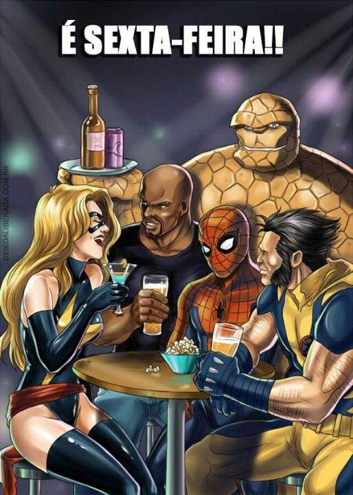Beber com amigos