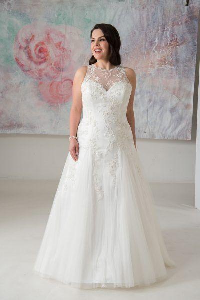 Tiffany Callista Plus Size Wedding Dresses