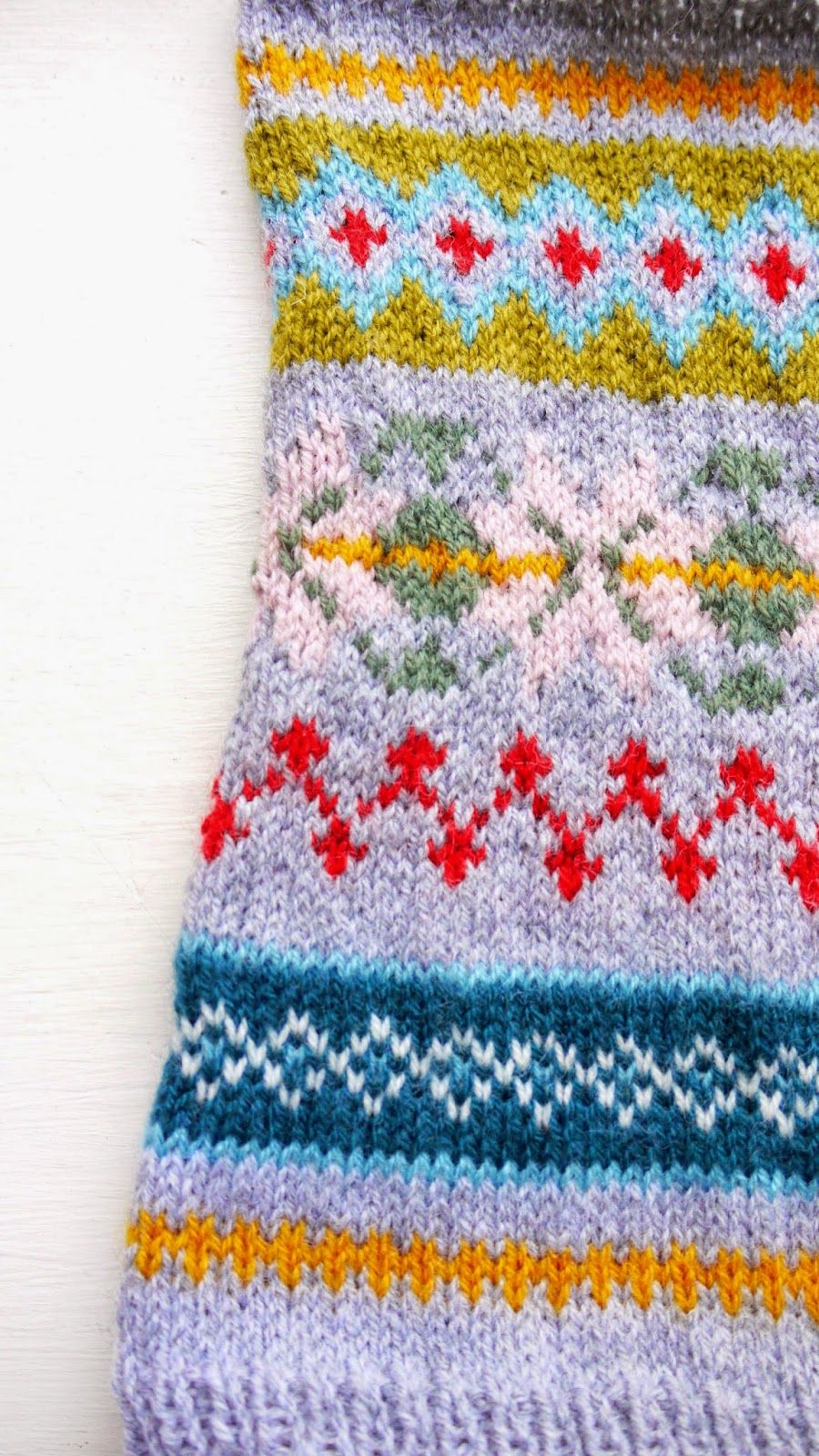 Porcupine Design - fair isle neck warmer | Mo Station | Pinterest ...