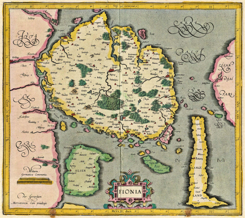 Pin Af Gabriel Laurentinus Pa Mapas Gamle Kort Kort Og Danmark