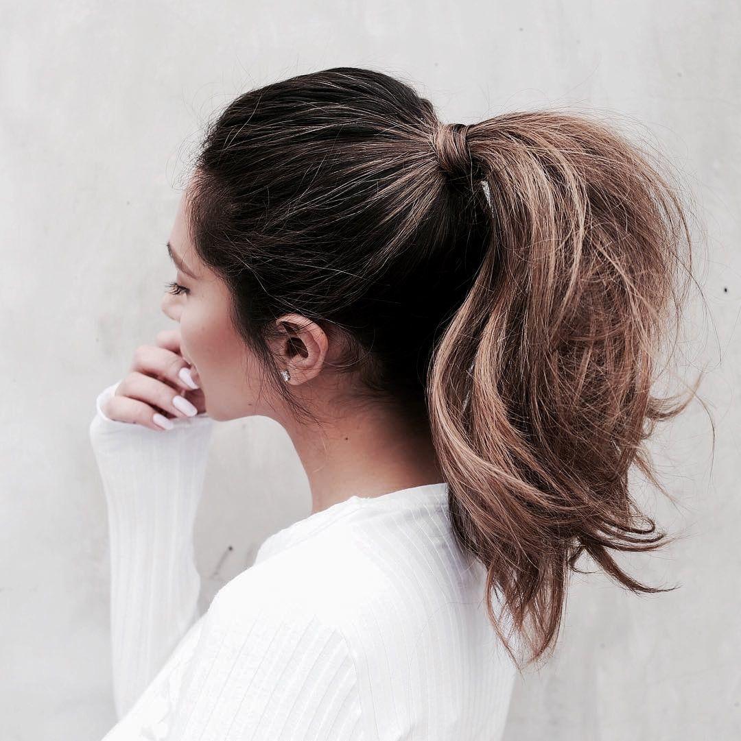 I N S T A G R A M Emilymohsie Hair Styles Medium Hair Styles Her Hair