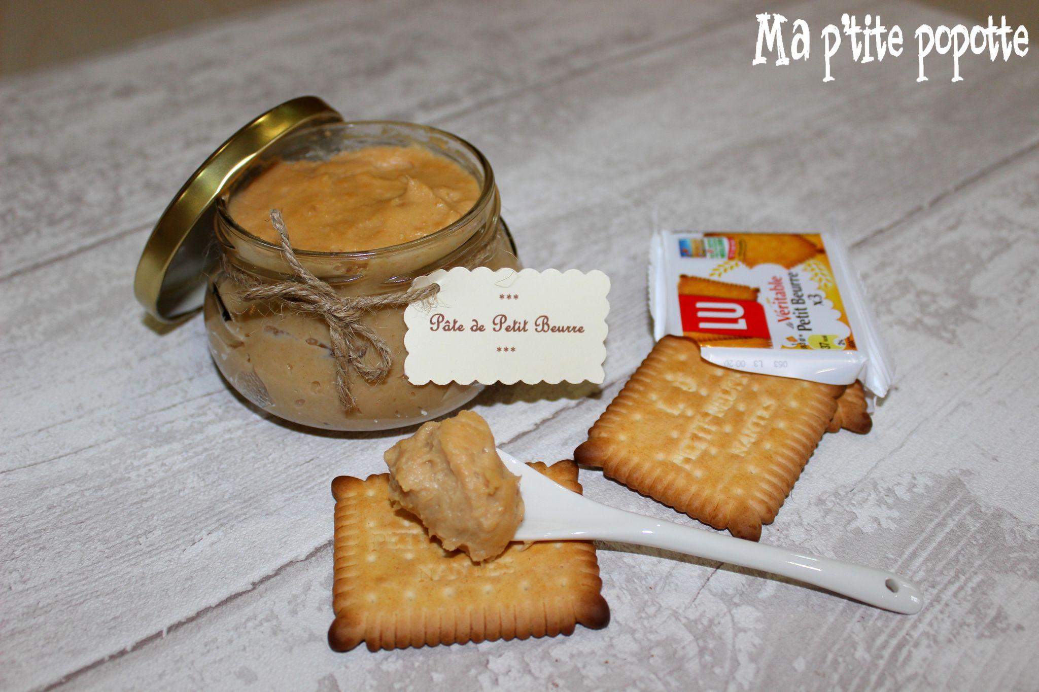 Pâte à tartiner aux petits beurre