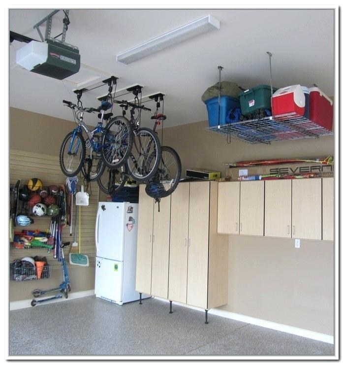 Ladder Storage In Garage Best Garage Storage Ideas Ladder Storage