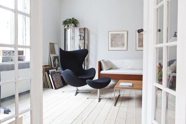 Egg chair, Arne Jacobsen | Sedia design, Sedia ovale e ...