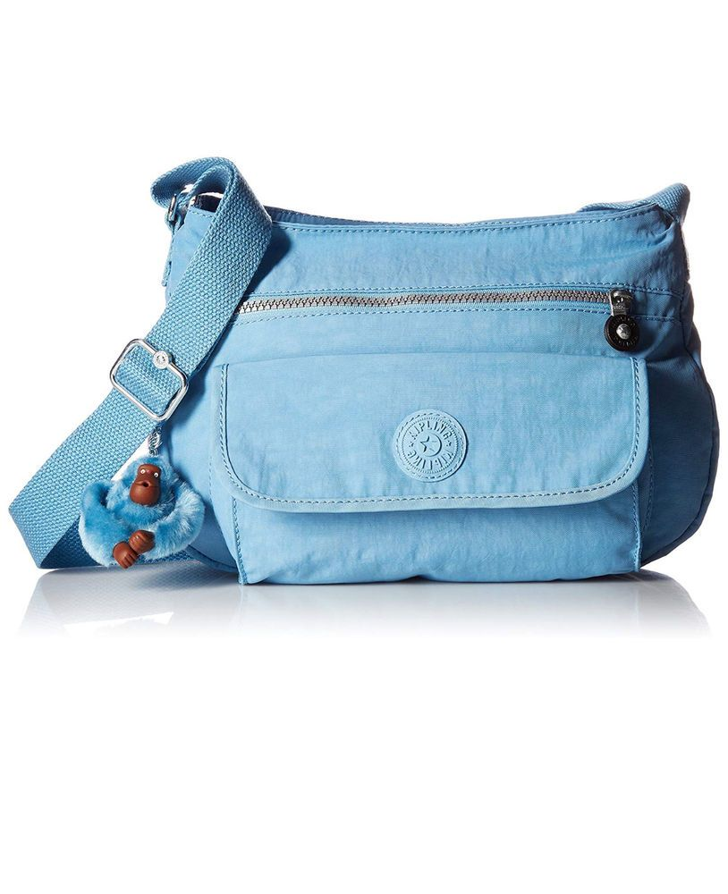 27dc868e639 KIPLING HB3819 452 Blue Grey SYRO Travel Shoulder CrossBody Bag Authentic  NWT #Kipling #Crossbody