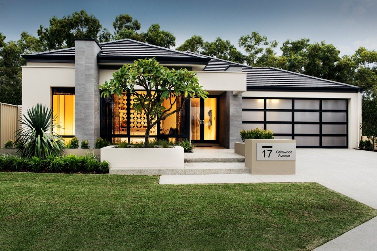 New Home Designs Perth | Nine I. Front Garden ...