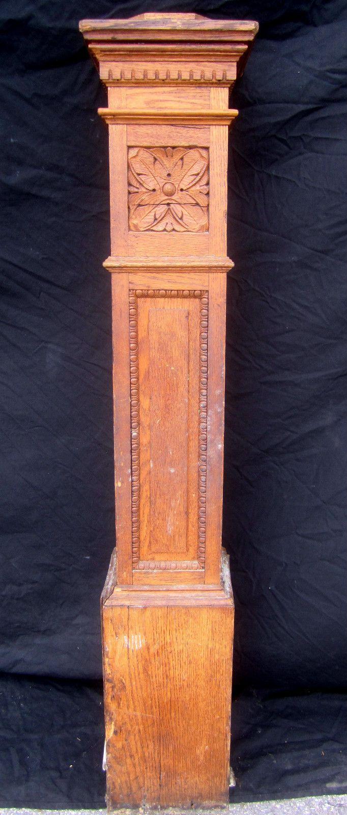 Best Antique Newel Architectural Salvage Oak Newel Post 640 x 480