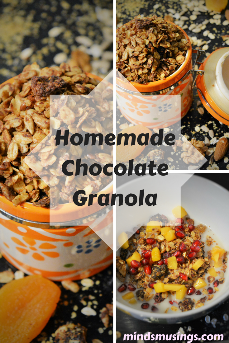 How to make chocolate granola at home homemade granola cereal how to make chocolate granola at home homemade granola cereal recipe healthy granola recipe ccuart Gallery