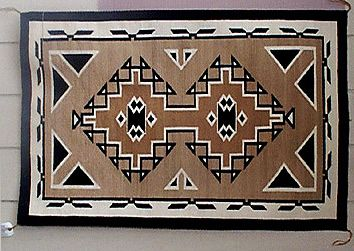 Two Grey Hills Navajo Rug Navajo Rugs And Baskets