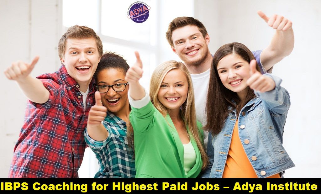 IBPS Coaching for Highest Paid Jobs –AdyaInstitute  According to industry report,IBPS CoachingCourses in Delhi are anticipated to render the highest paid jobs in the year to come. Those who are interested in pursuing IBPS courses, Competitive Courses and English Speaking Courses may opt forwww.adyainstitute.com, a premier institute in the country. For more information contact us atadyainstitute@gmail.comor 8527499704.