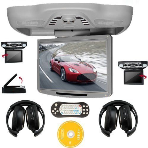 Ouku 12.1 Inch Roof Mount Car DVD Player with TV FM ... Ouku Wiring Diagram Dvd on