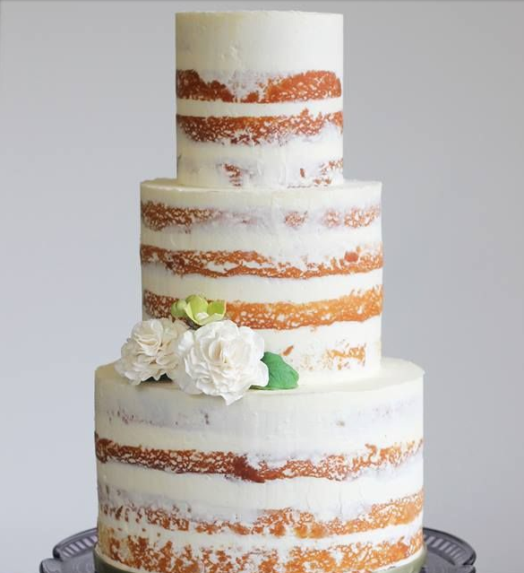 Lemon Cake Suitable For A Wedding Cake