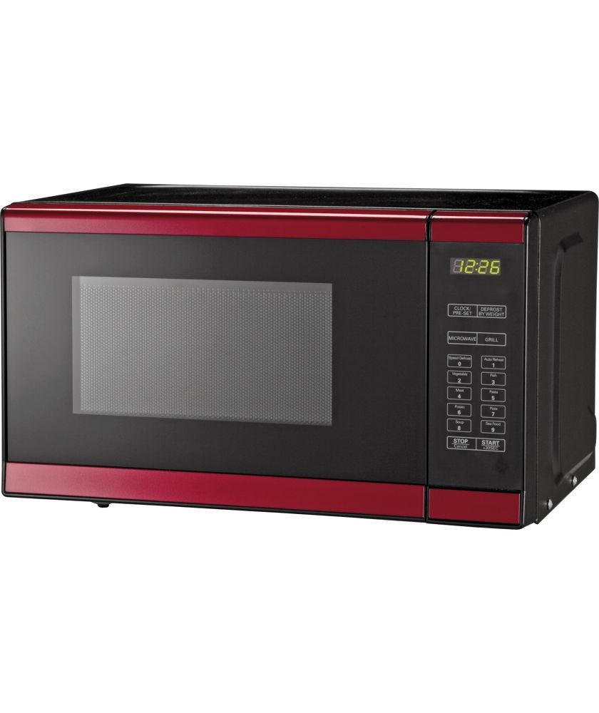 Morphy Richards Em820 Standard Microwave Red At Argos Co Uk Your Online For Microwaves