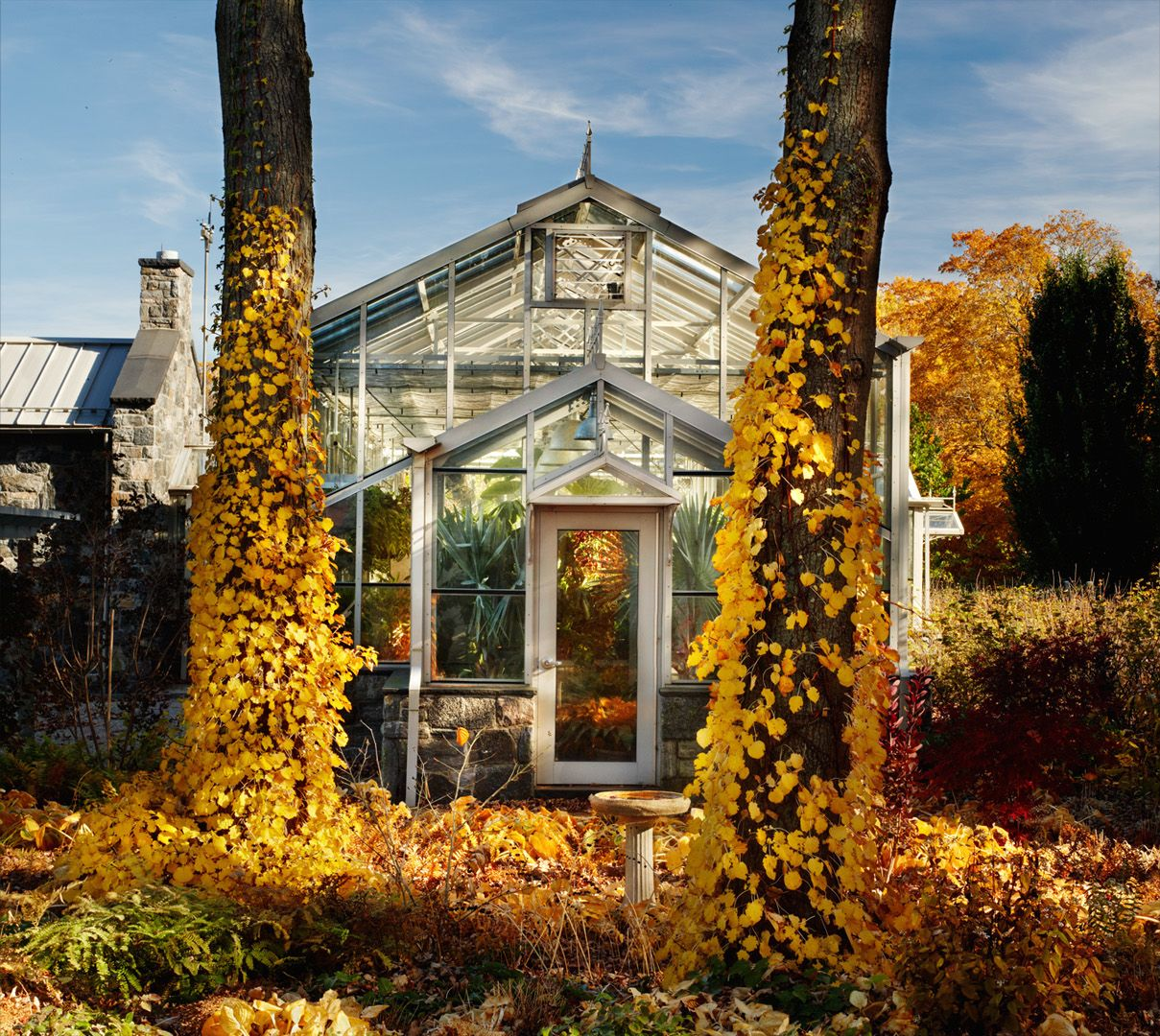 Martha Stewart\'s Bedford home   Photograph by Michael Biondo ...