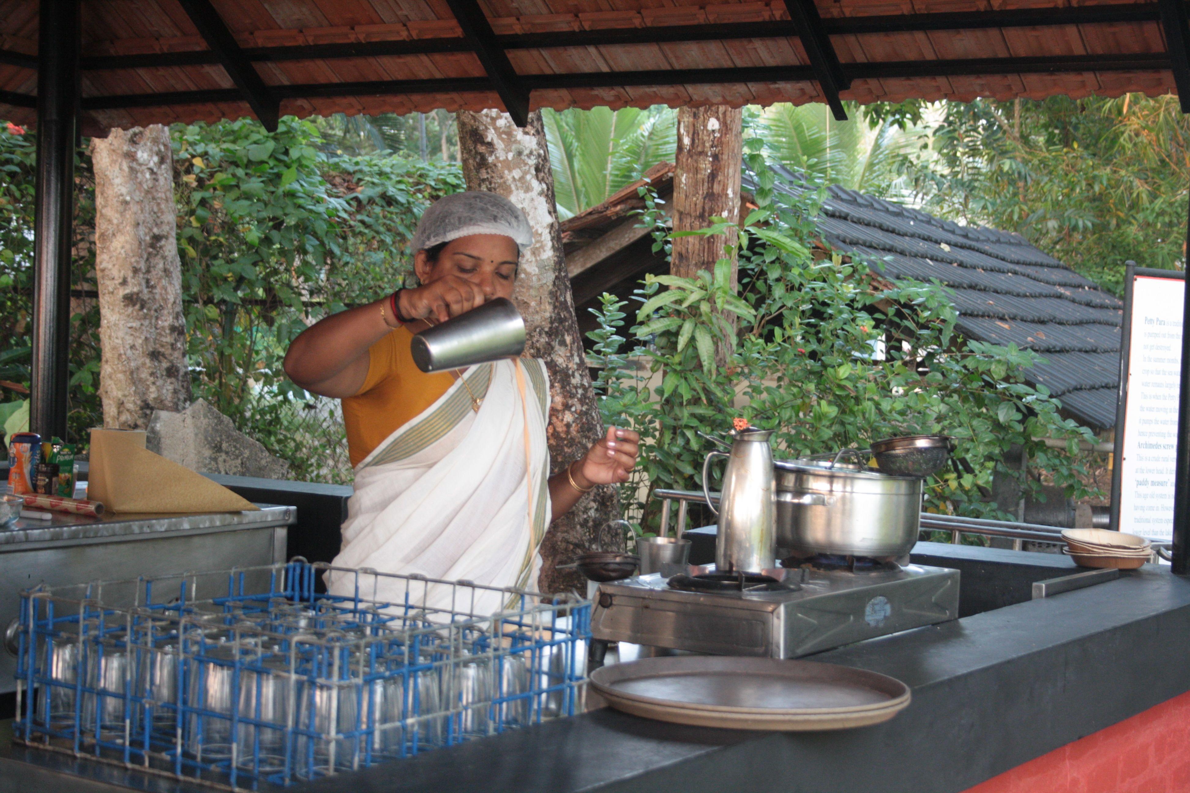Meter Chai at Kerala Chaikada..