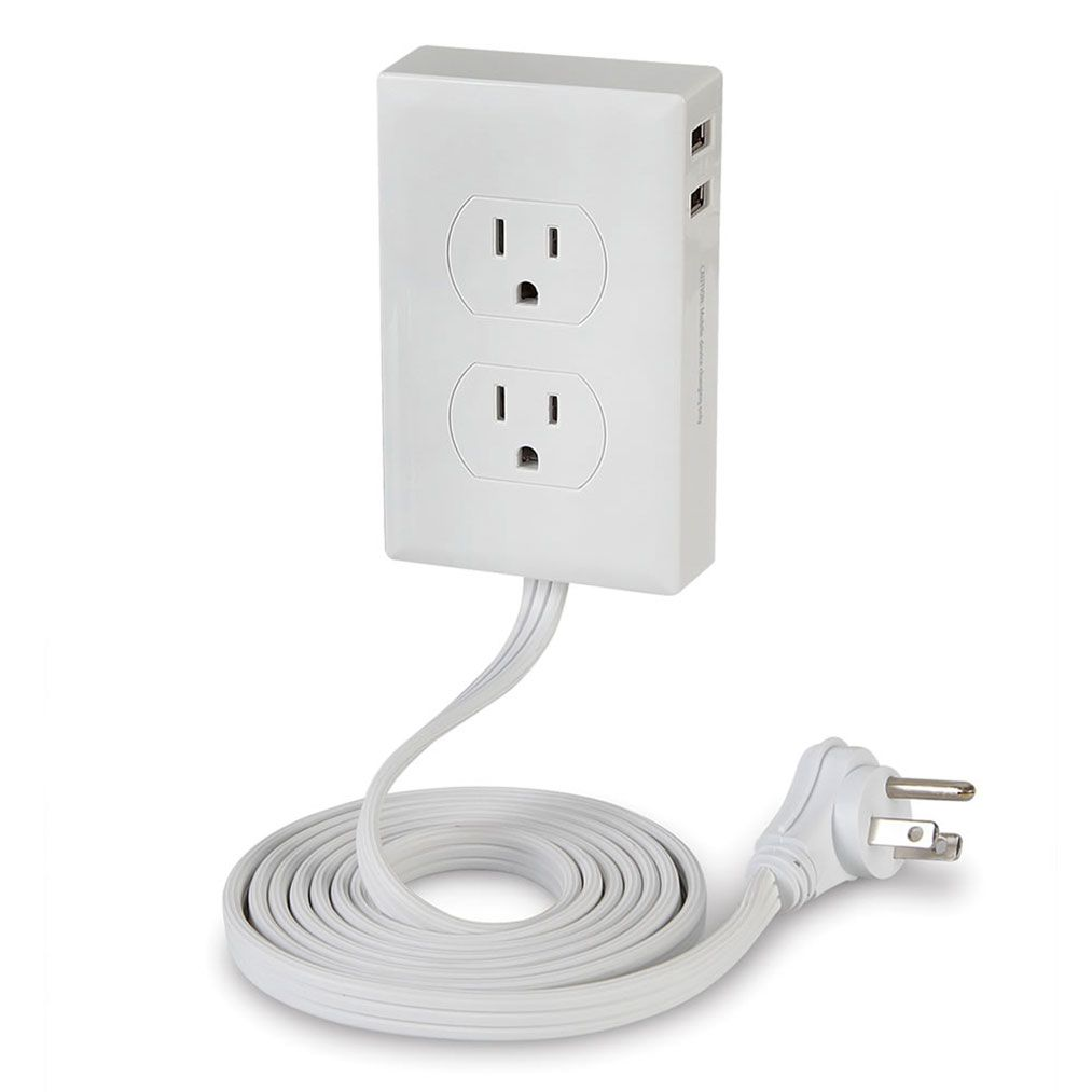 7640 The Wall Mounted Outlet Extender Outlet Extender Outlet Wall Mount