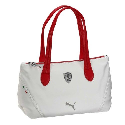 8ebc6d475f65 Ferrari Handbag  ferrari  ferraristore  puma  handbag  style  stylish   trandy  accessory  brown  white  ice  red  cavallinorampante   prancinghorse  shield ...