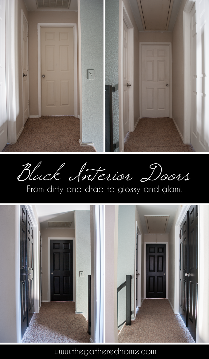 Charming A Simple DIY Project With Dramatic Results! A Few Coats Of Glossy Black  Paint Can