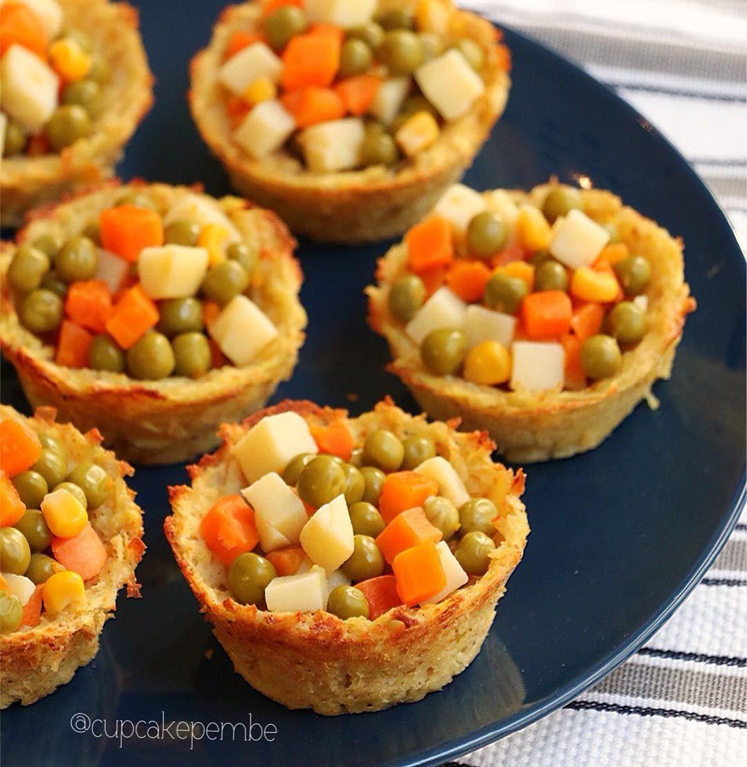 Garnitürlü Patates Çanakları Tarifi – Salata Tarifleri