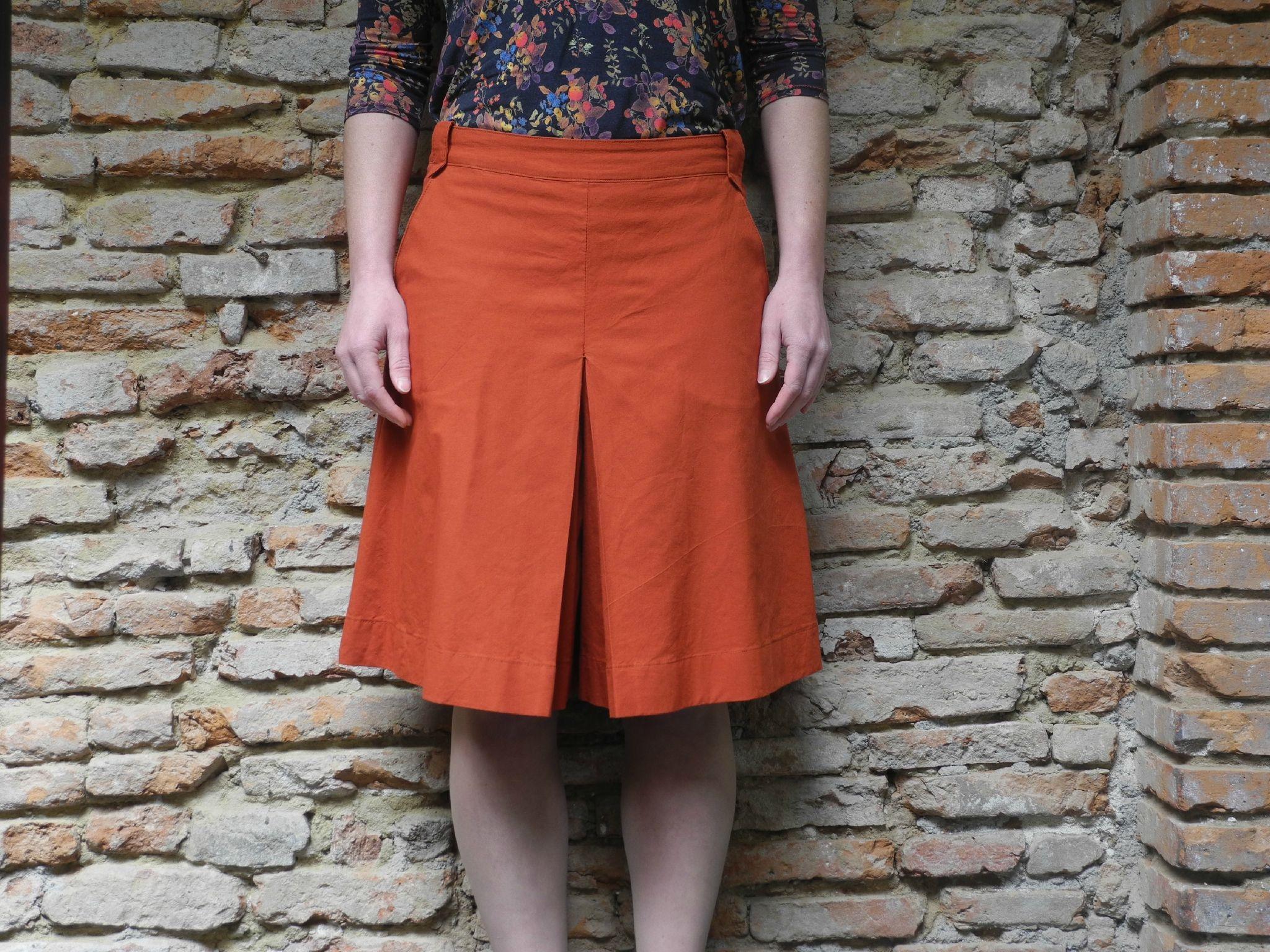 0ed3da8f8fde08 La Jupe Culotte ! - La FabriqÜd. | Sewing ideas | Jupe culotte, Jupe ...