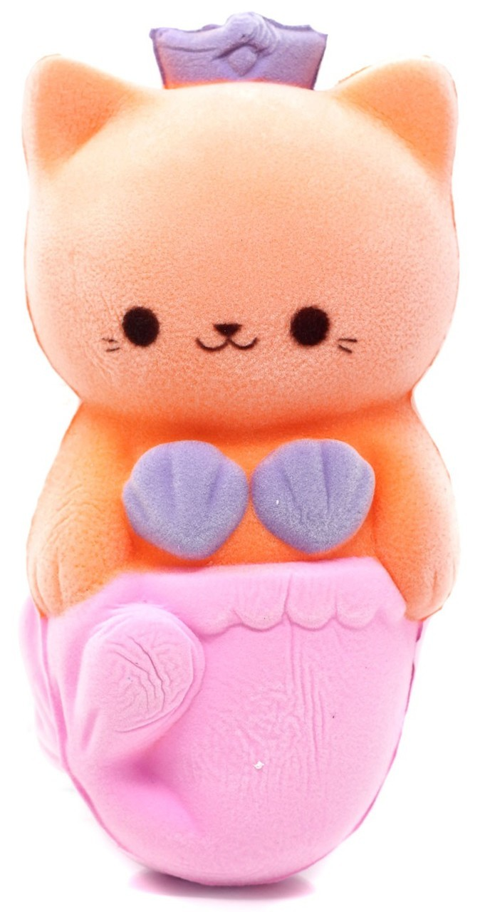 Soft N Slo Squishies Slo Rize Velvet Cat Donut Soft/' N Slo