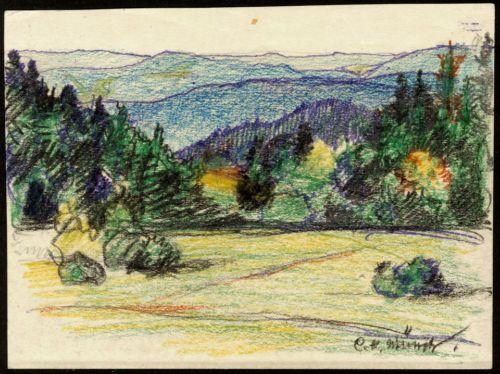 Künstler Stuttgart handgemalte kunstler postkarte carl hermann munch stuttgart 1934