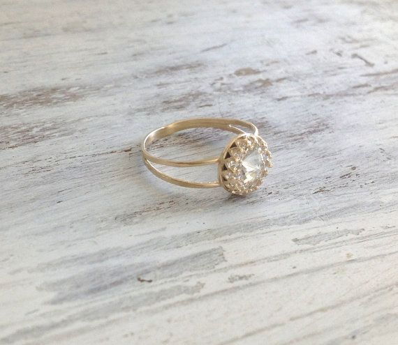 gold ring wedding ring stacking ring vintage ring by avnis on etsy in this case - Etsy Wedding Rings