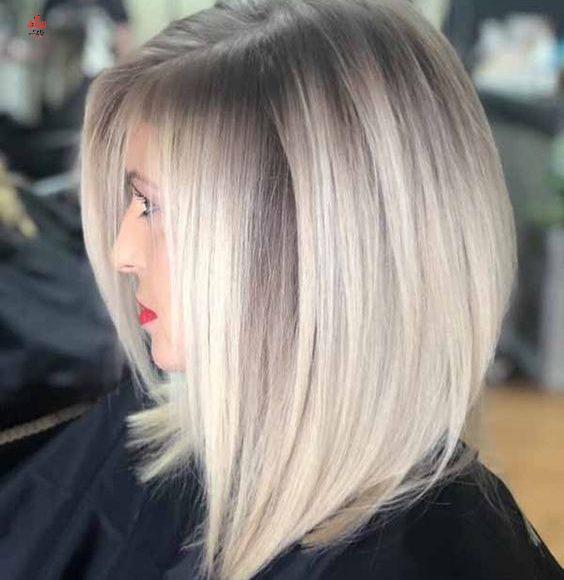 طريقة صبغ الشعر بالبيت اشقر رمادي كيفية الحفاظ على الصبغة لأطول فترة ممكنة في خد Haircuts For Fine Hair Haircuts For Straight Fine Hair Short Straight Hair