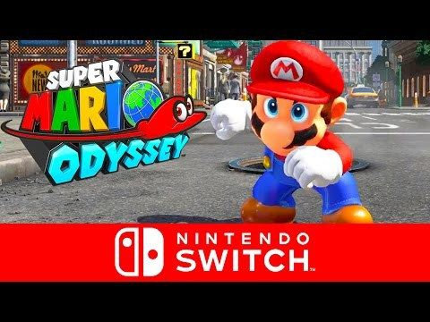 See The Super Mario Odyssey Trailer For The Nintendo Switch