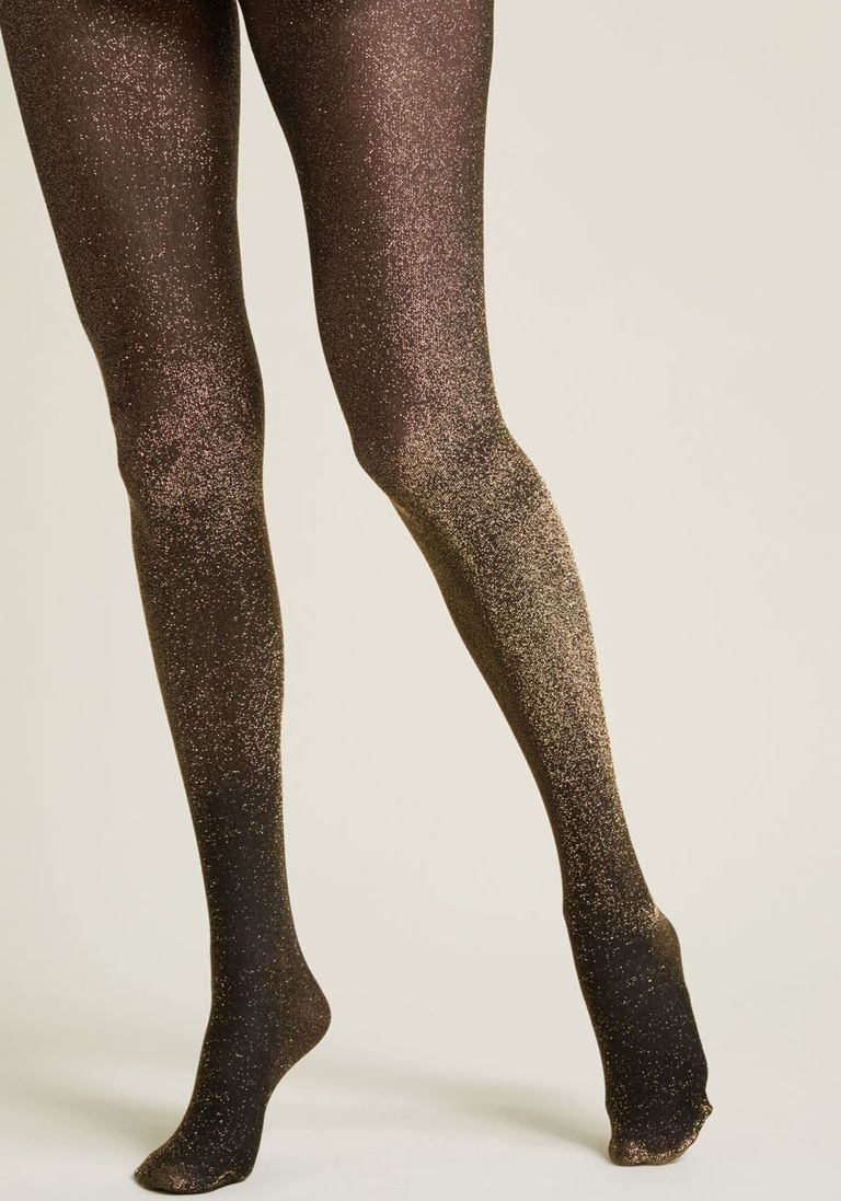 debcd227482 Gimme the Glitter Sparkly Tights - Size OS