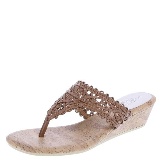 """The Rosita has all the details to complete your classic look! It features a woven upper with intricate detail, 1 1/2"""" wedge, and a rubber outsole. The…"""