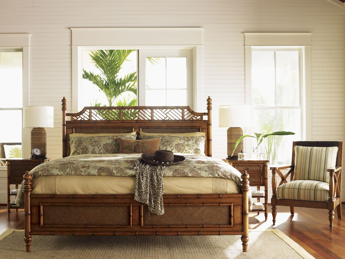 Best Bamboo And Rattan Bed For Master Bedroom Tommybahamabed 400 x 300