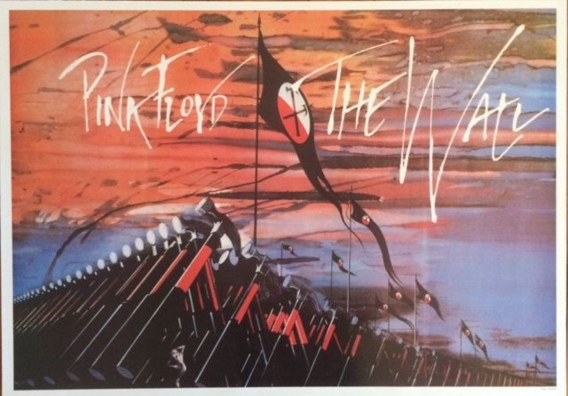 Poster Posters Pink Floyd The Wall Marching Hammers Wall Decor Wall Art 24 x 34