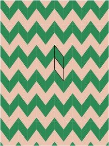 Chevron parallelogram ~ Chevron Quilts ~ How many ways? Marjorie's ... : parallelogram quilt pattern - Adamdwight.com