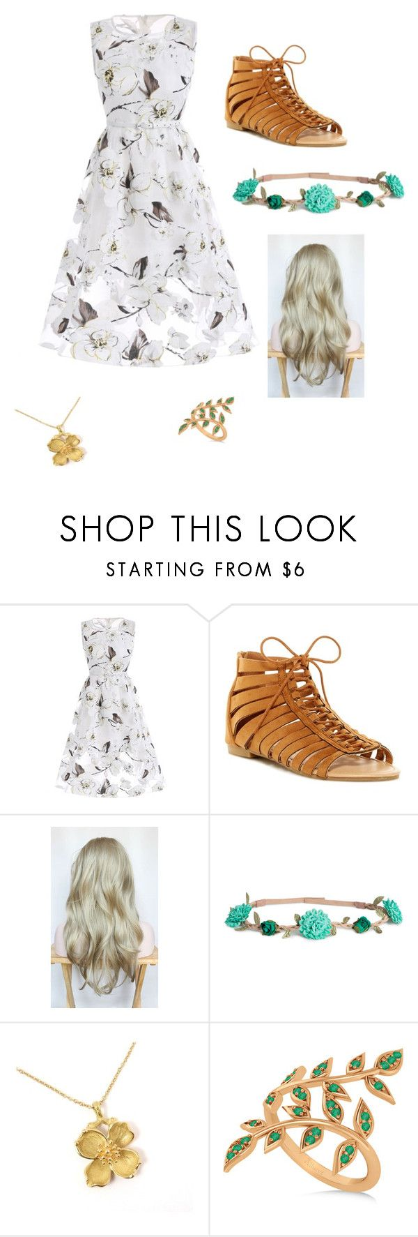 """""""Child of Demeter"""" by mia-evergreen on Polyvore featuring ANNA, H&M, Tiffany & Co. and Allurez"""