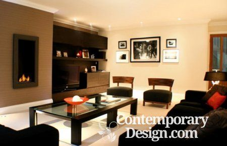 Living Room Paint Color Ideas With Brown Furniture Contemporary Design Dark Furniture Living Room Living Room Color Dark Living Rooms