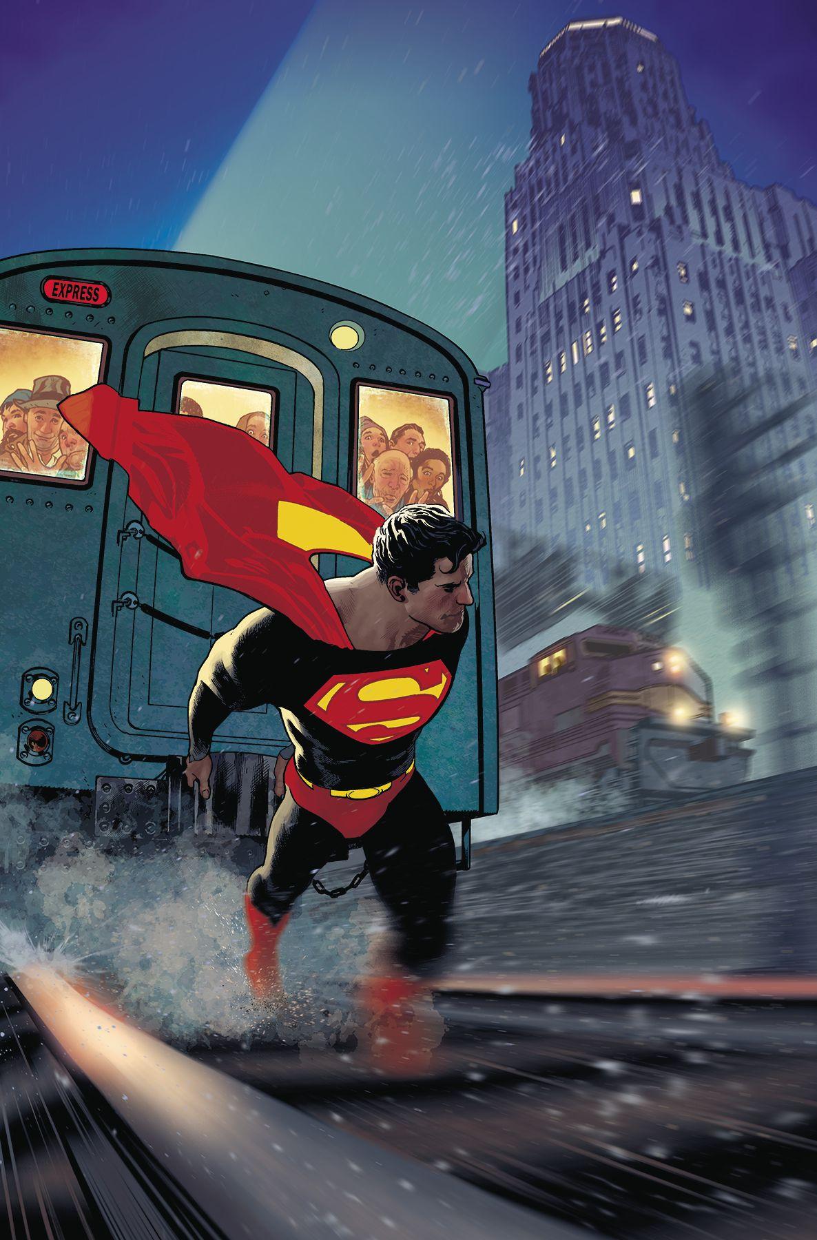 Superman 10 variant adam hughes