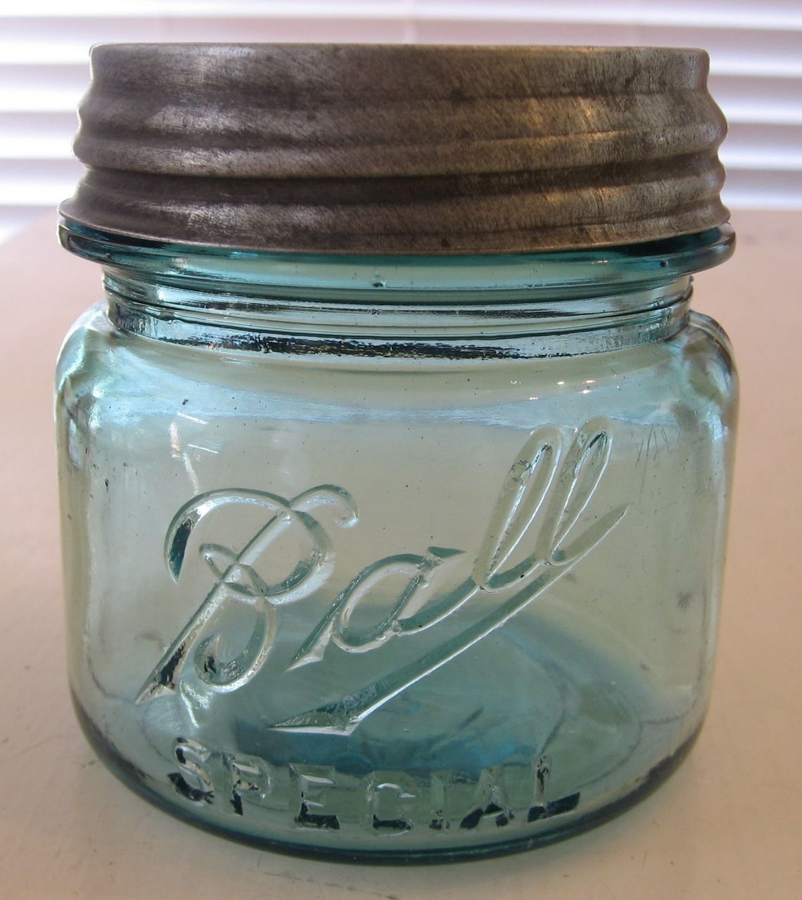 1910 - 1923 Ball Pint Canning Jar