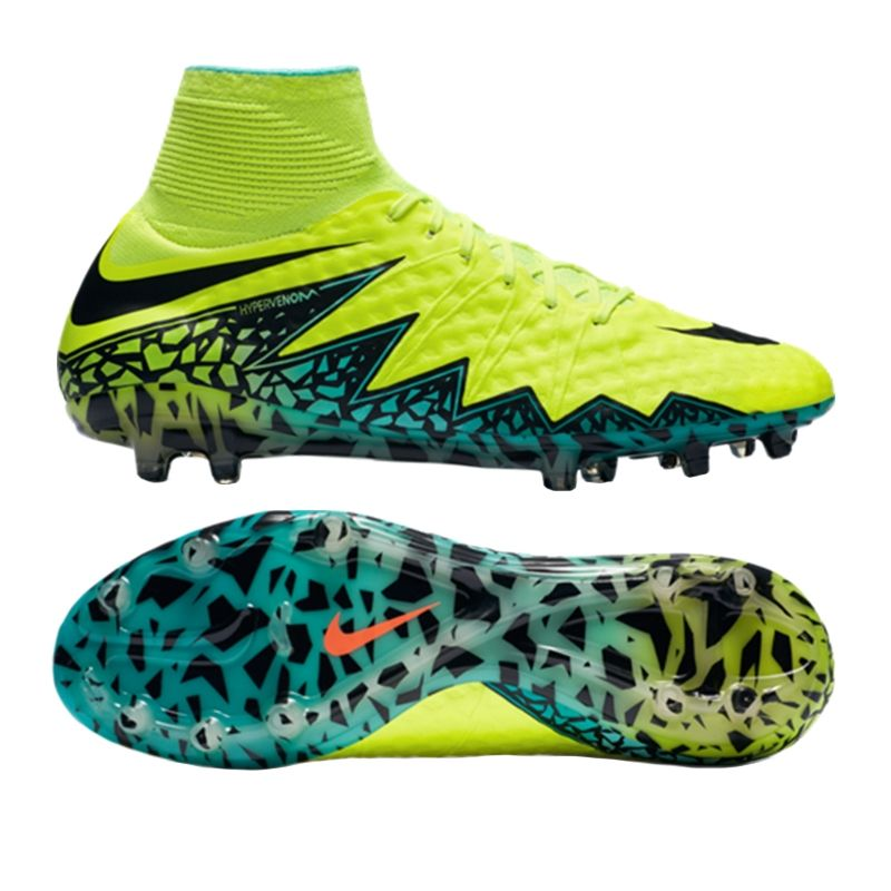 Nike Hypervenom Phantom 2 FG Rage Green/White/Ghost Green/Turquise/Jade - Nike Soccer Shoes Best Qua