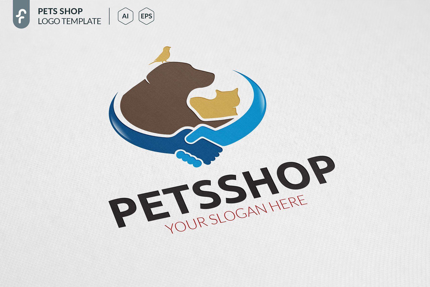 Pets Shop Logo Shop Pets Templates Logo Pet Shop Logo Pet Shop Pets