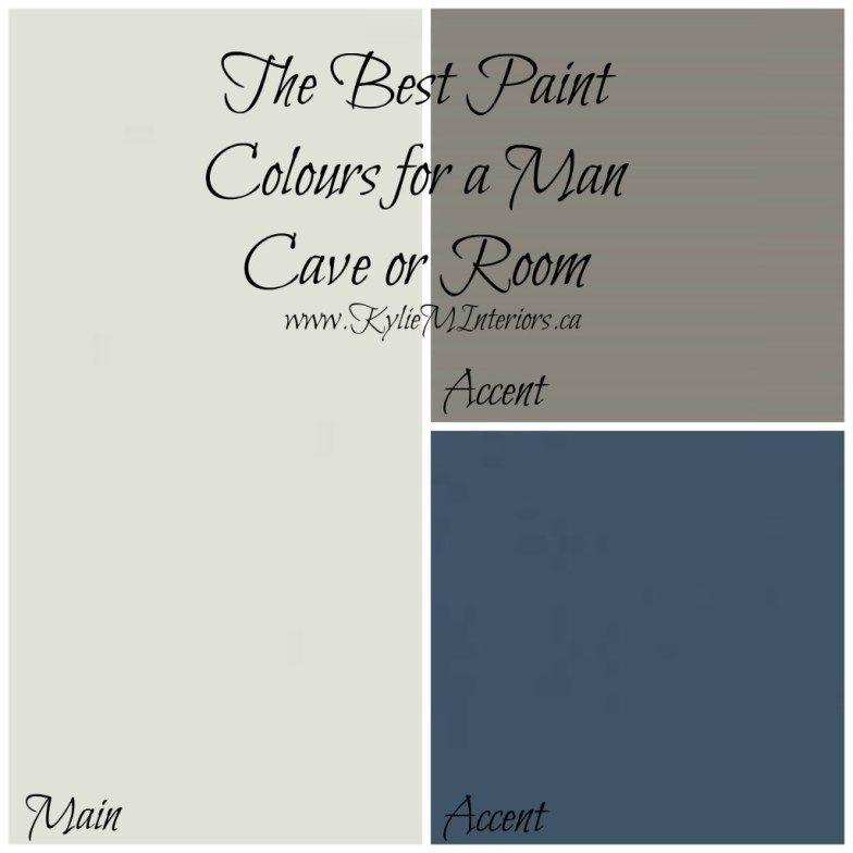 Best Paint Colors For A Man Room / Man Cave