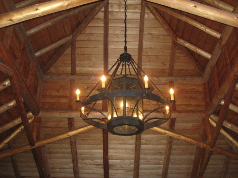 Custom Wrought Iron Chandeliers Chicken Coop Forge Blacksmith S Design Rustic Lighting In 2019