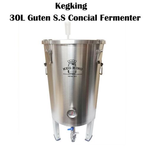 Kegking Guten 30l Full Stainless Steel Ss304 Conical Fermenter In