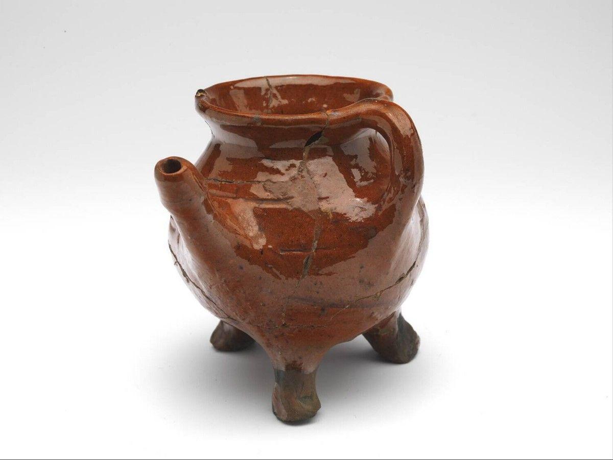 Spouted Pitcher Anonymous 1400 1500 Pottery Jugs Dutch Ceramic Ceramic Pots